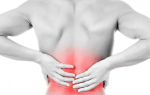 Lower back pain and associated back problems