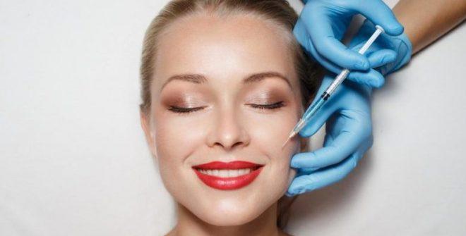 Minimal invasive face slimming cosmetic treatment