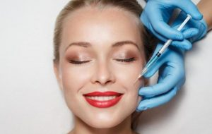 Minimal invasive face slimming cosmetic treatment